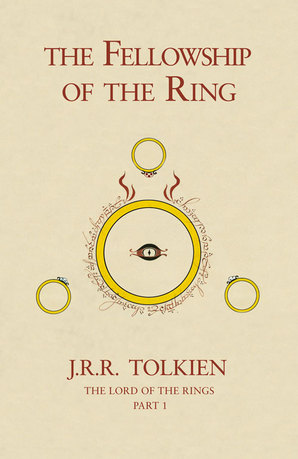 The Fellowship of the Ring Hardcover 50th Anniversary edition by J. R. R. Tolkien