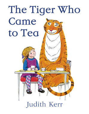 The Tiger Who Came to Tea Paperback by Judith Kerr, illustrated by Judith Kerr