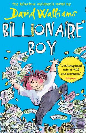Billionaire Boy Paperback by David Walliams