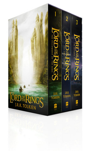 The Lord of the Rings Paperback Film tie-in International edition by J. R. R. Tolkien