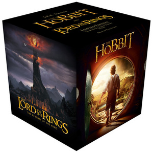 The Hobbit and Lord Of The Rings Complete Gift Set CD-audio Unabridged edition by J. R. R. Tolkien