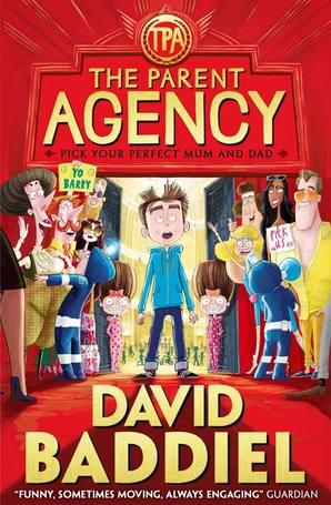 The Parent Agency Paperback by David Baddiel