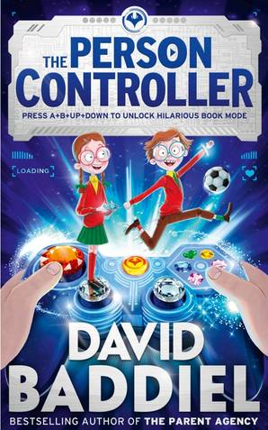 The Person Controller Paperback by David Baddiel