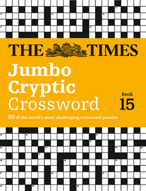 The Times Jumbo Cryptic Crossword Book 15 Paperback by The Times Mind Games, Richard Browne