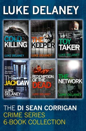 DI Sean Corrigan Crime Series: 6-Book Collection by Luke Delaney