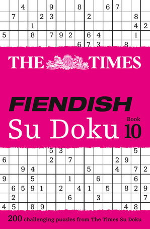 The Times Fiendish Su Doku Book 10 Paperback by The Times Mind Games
