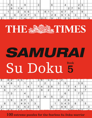 The Times Samurai Su Doku 5 Paperback by The Times Mind Games