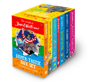 The World of David Walliams: Super-Tastic Box Set by David Walliams