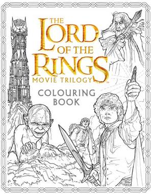 The Lord of the Rings Movie Trilogy Colouring Book by J. R. R. Tolkien