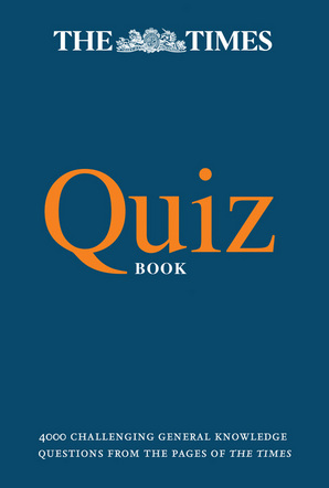 The Times Quiz Book Paperback by The Times Mind Games, Olav Bjortomt