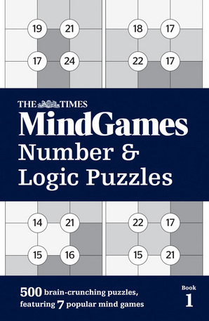 The Times Mind Games Number and Logic Puzzles Book 1 Paperback by The Times Mind Games