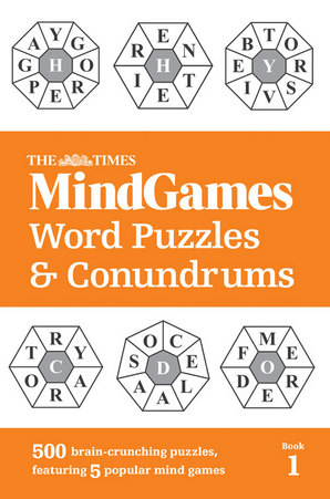 The Times Mind Games Word Puzzles and Conundrums Book 1 Paperback by The Times Mind Games