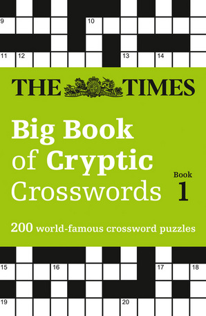 The Times Big Book of Cryptic Crosswords Book 1 Paperback by The Times Mind Games