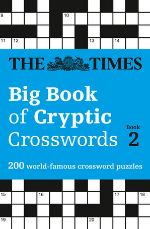 The Times Big Book of Cryptic Crosswords Book 2 Paperback by The Times Mind Games