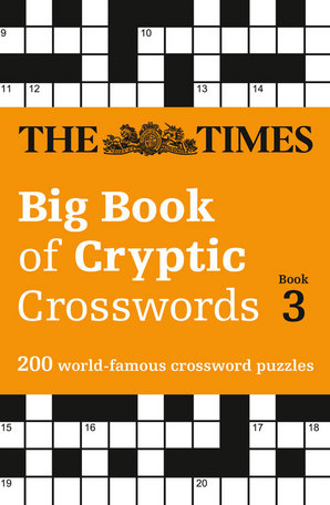 The Times Big Book of Cryptic Crosswords Book 3 Paperback by The Times Mind Games
