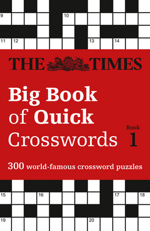 The Times Big Book of Quick Crosswords Book 1 Paperback by The Times Mind Games
