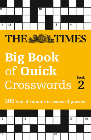 The Times Big Book of Quick Crosswords Book 2 Paperback by The Times Mind Games