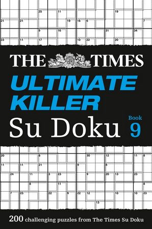 The Times Ultimate Killer Su Doku Book 9 Paperback by The Times Mind Games