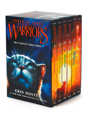Warriors: Power of Three Box Set: Volumes 1 to 6 Paperback by Erin Hunter