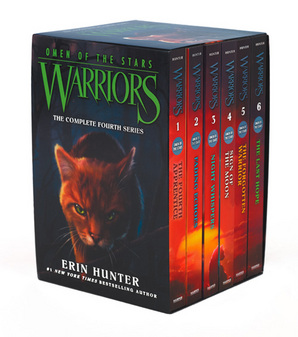 Warriors: Omen of the Stars Box Set: Volumes 1-6 Paperback by Erin Hunter