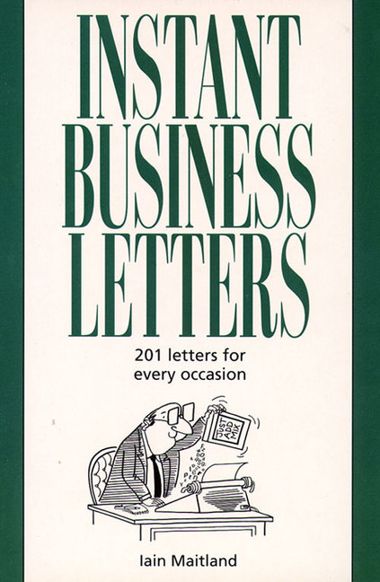 Book Details Instant Business Letters